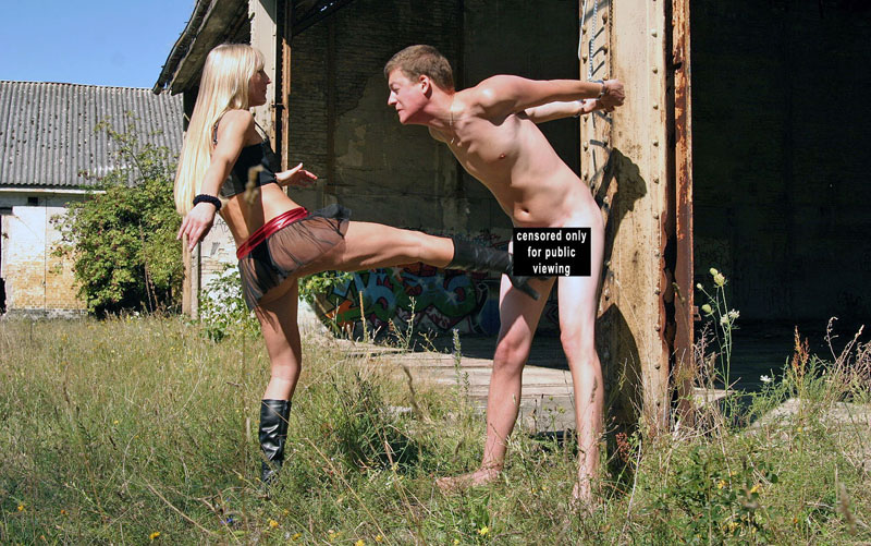 German Ballbusting
