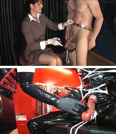 Cock torture femdom
