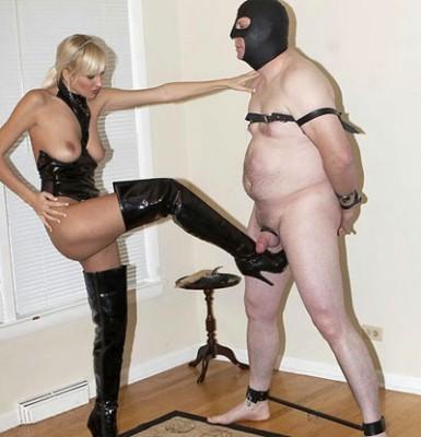 Boots Mistress ballbusting